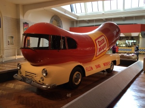 "A classic!  The 1952 Wienermobile.  Built on a 22"" long Dodge Chassis"