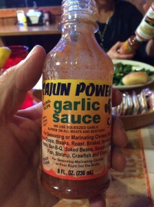 We also bpught some of this most awesome garlic sauce.